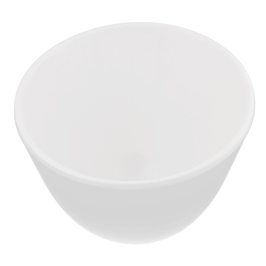 Home Kitchen Tall Slant Cut Bowl Dessert Bowls White