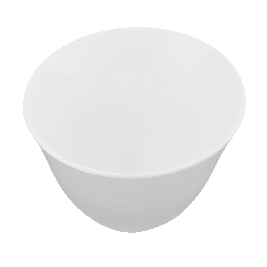 Home Restaurant Plastic Tall Slant Cut Serving Bowl