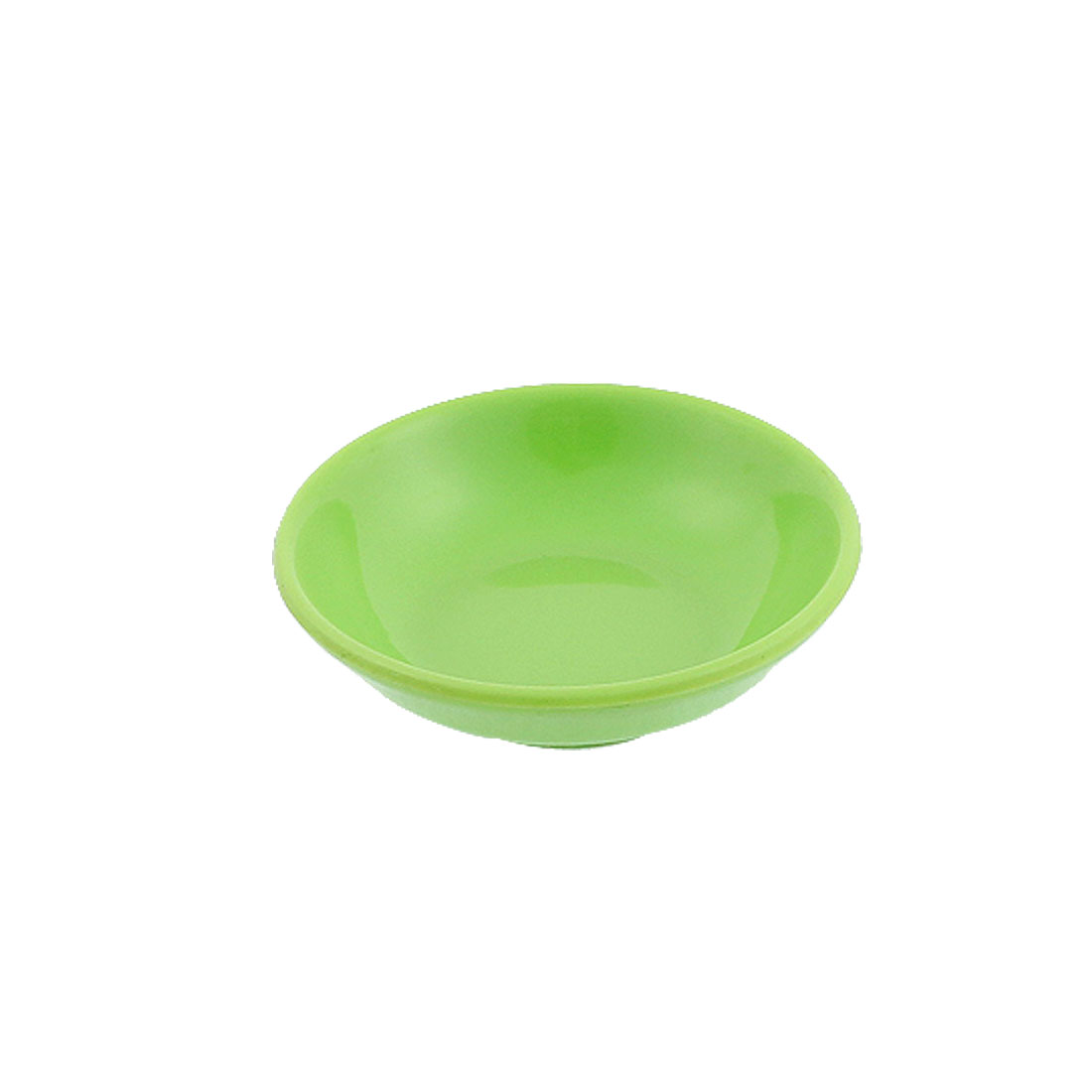 Round Shape Soy Sauce Dipping Sushi Mini Dish Plate Green