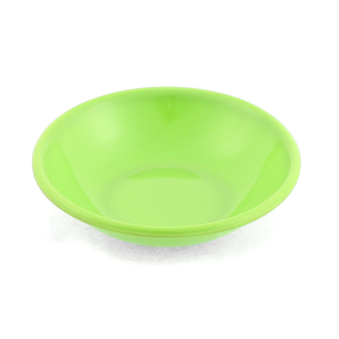 Kitchen Soy Sauce Wasabi Dipping Plastic Dish Plate Green