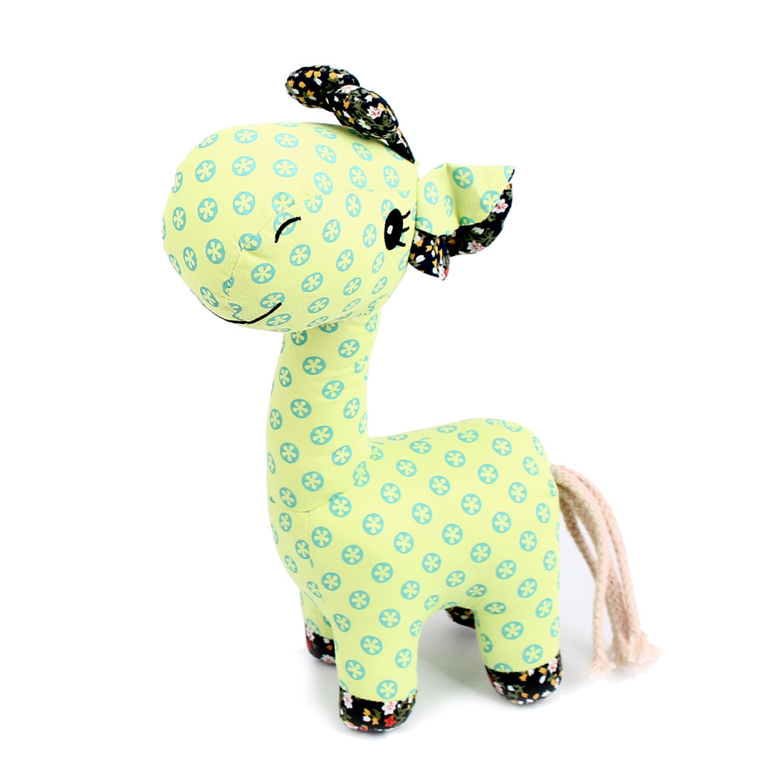 Children Kids Dotted Pattern Birthday Party Gift Animal Toy Giraffe Doll Green