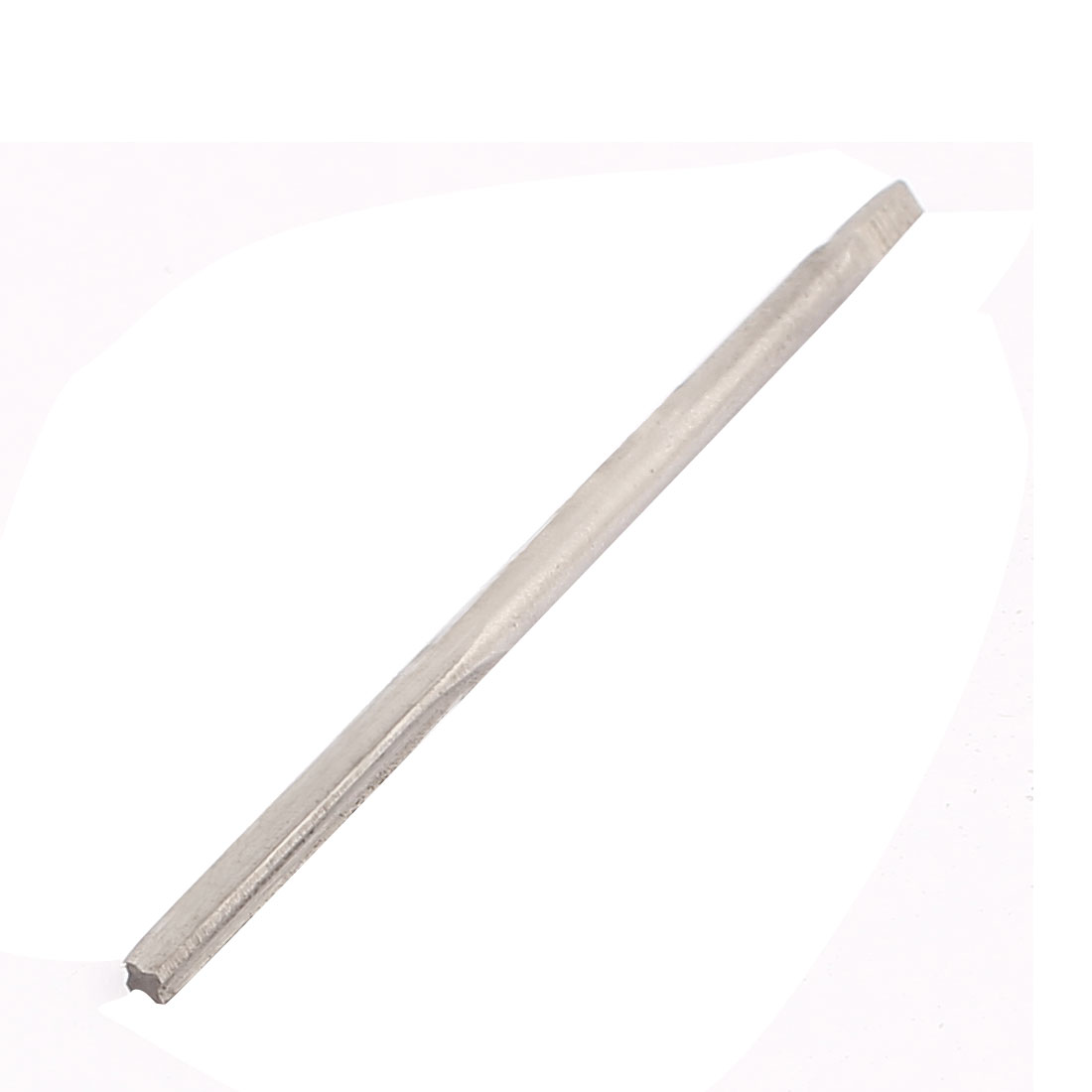 2.5mm Cutting Diameter 57mm Long 4 Flutes Square End Hand Reamer Cutter Tool