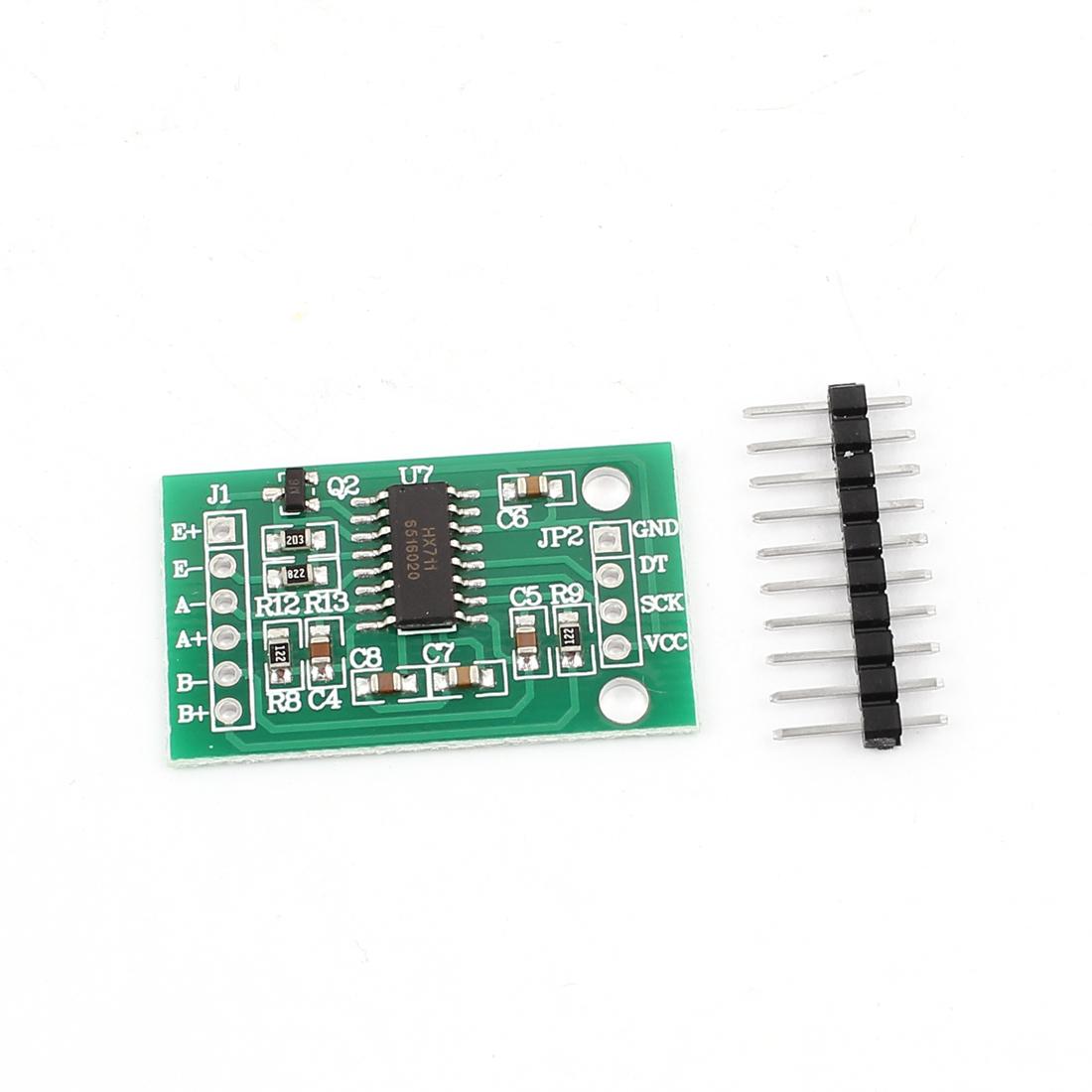 HX711 A/D Converter 2-Ch 24 Bit Precision Weighing Pressure Sensor Module