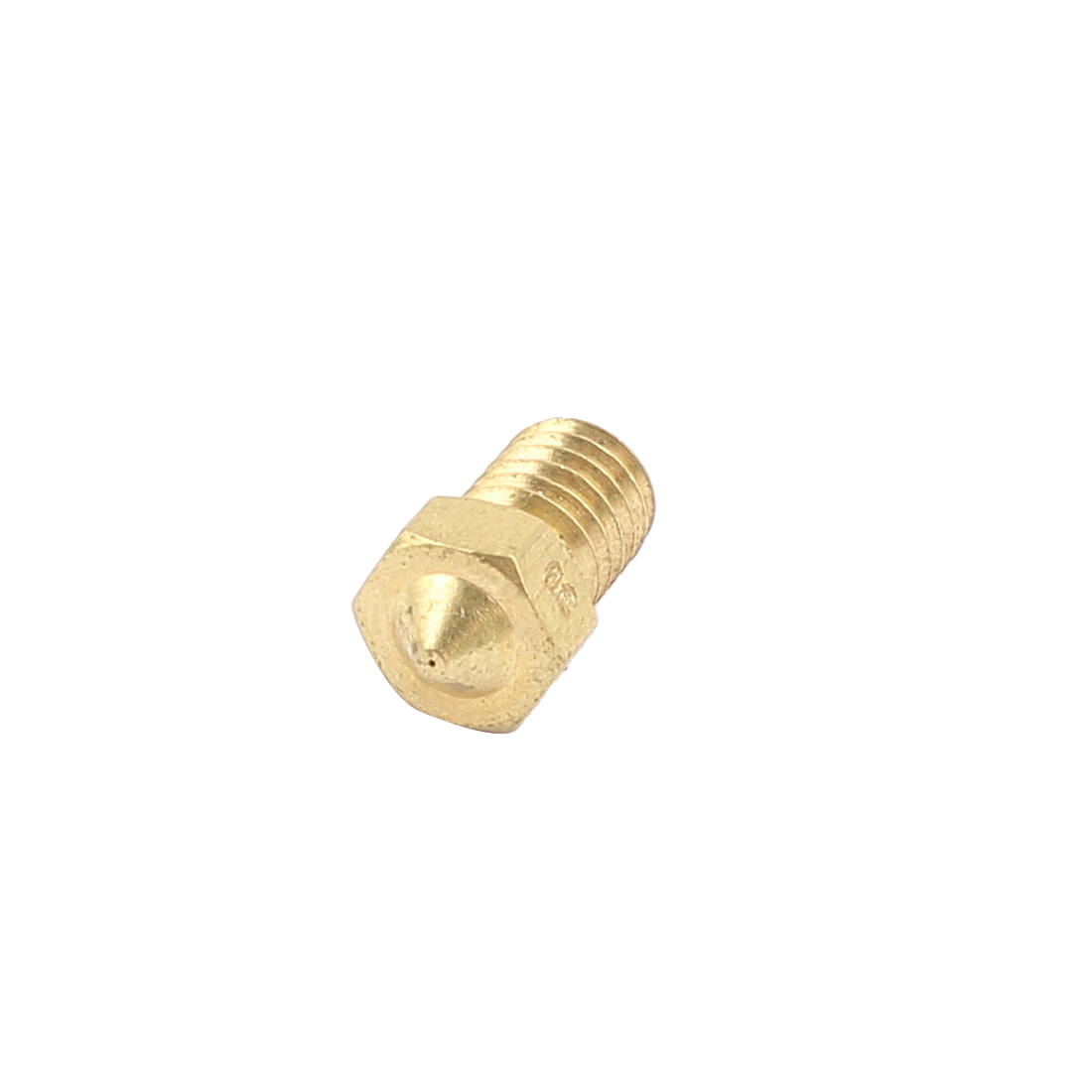 M6 Metal Male Thread Dia Straight Grease Nipple Filling Nozzle