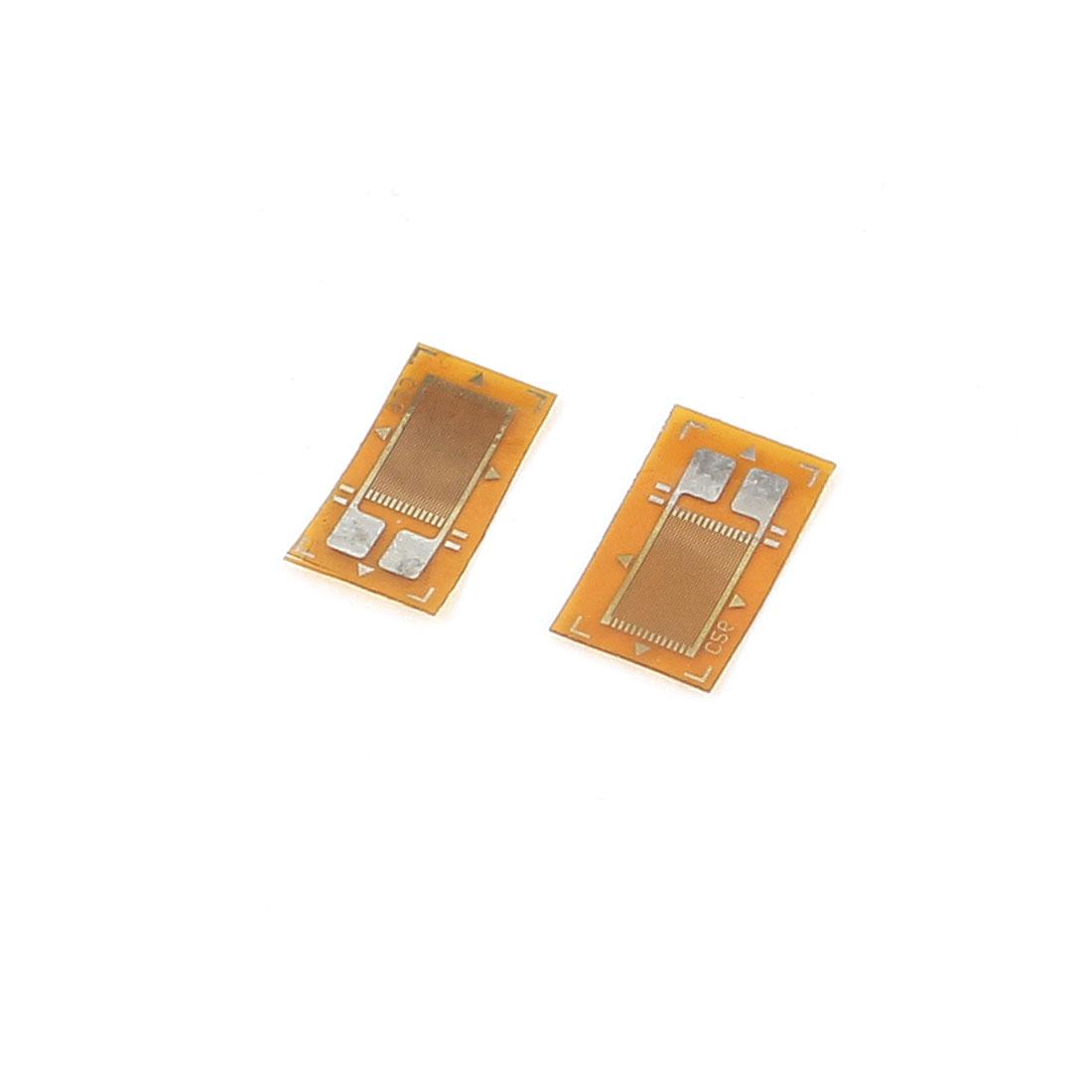 2 PCS BF350 Precision Pressure Resistive Strain Gauge for Sensor Load Cell