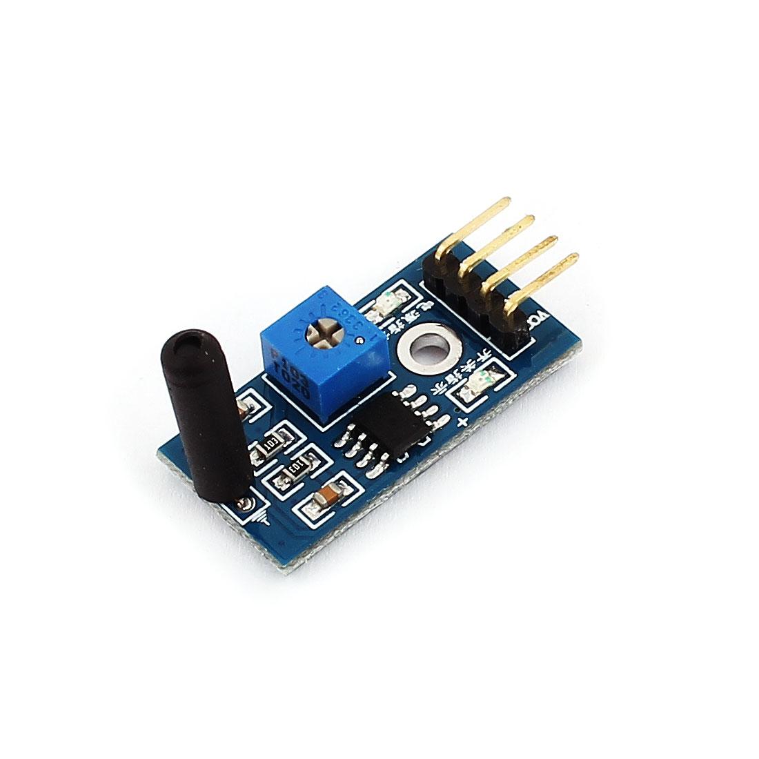 Indicator Light Single Channel Shock Sensor Module for Smart Car