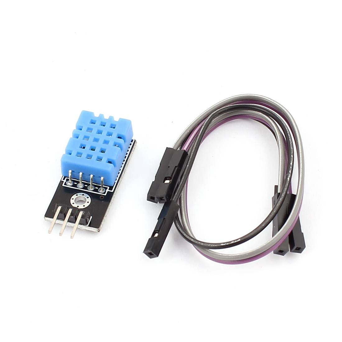 DHT11 Single Digital Output Temperature Humidity Sensor Module w Cable