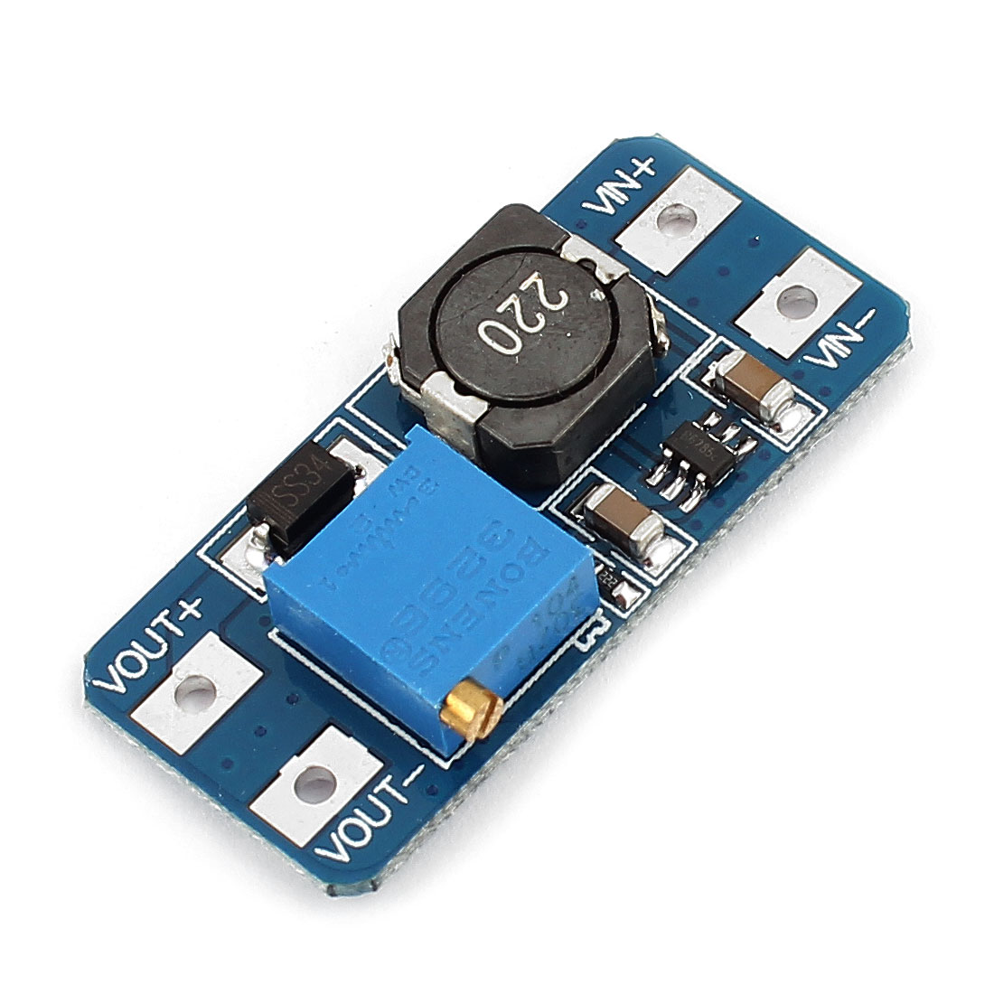 DC/DC Voltage Step Up Boost Module 2-24V to 5-28V Connect Charger