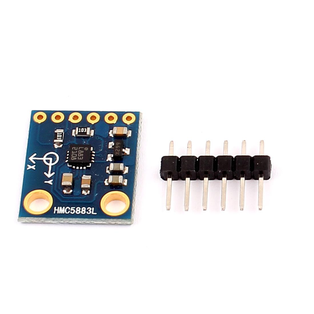 HMC5883L Electrical Compass Sensor Magnetometer Module 3V-5V w 6 Axis
