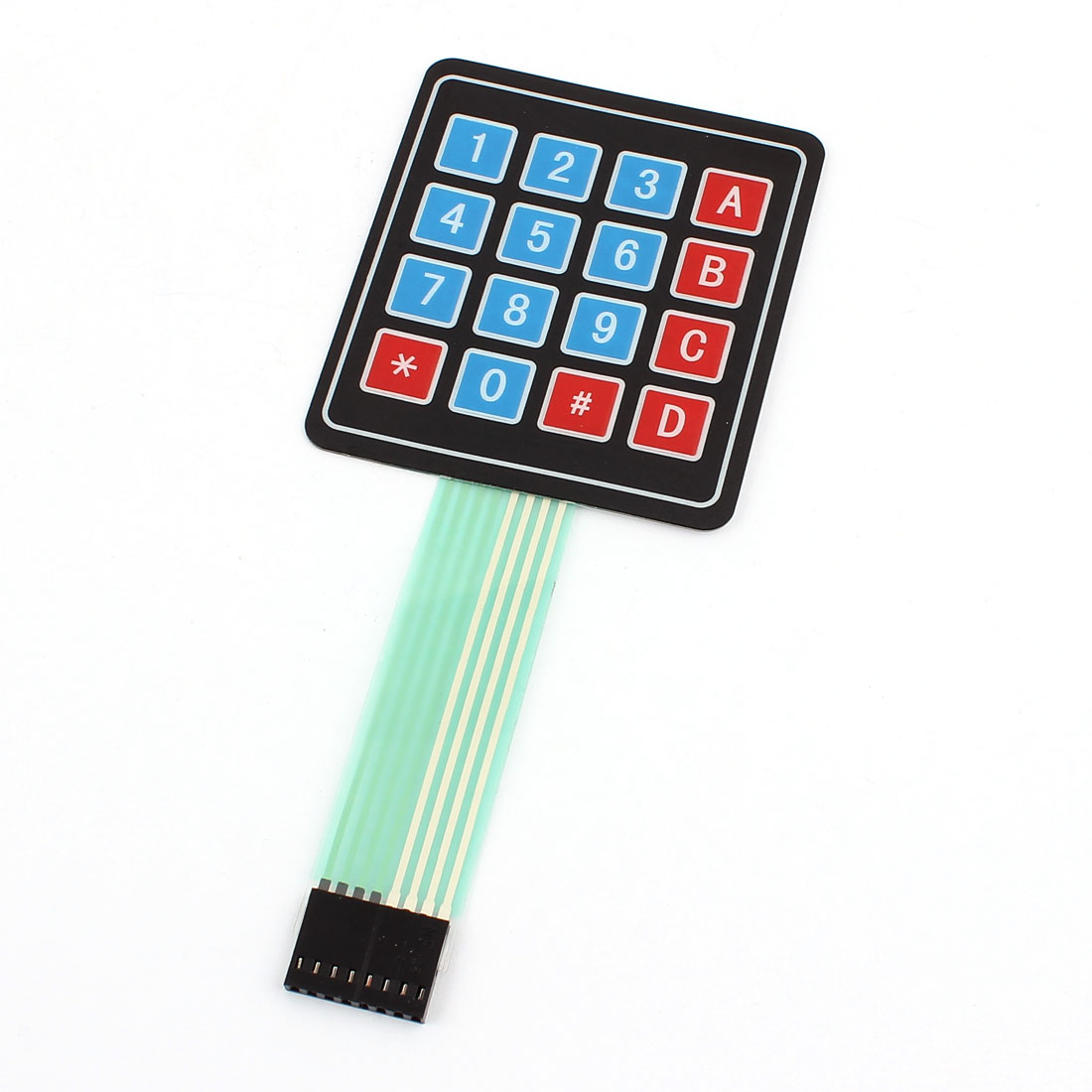 DC 12V 4x4 Matrix 16 Keys Membrane Switch Controller Keypad Keyboard