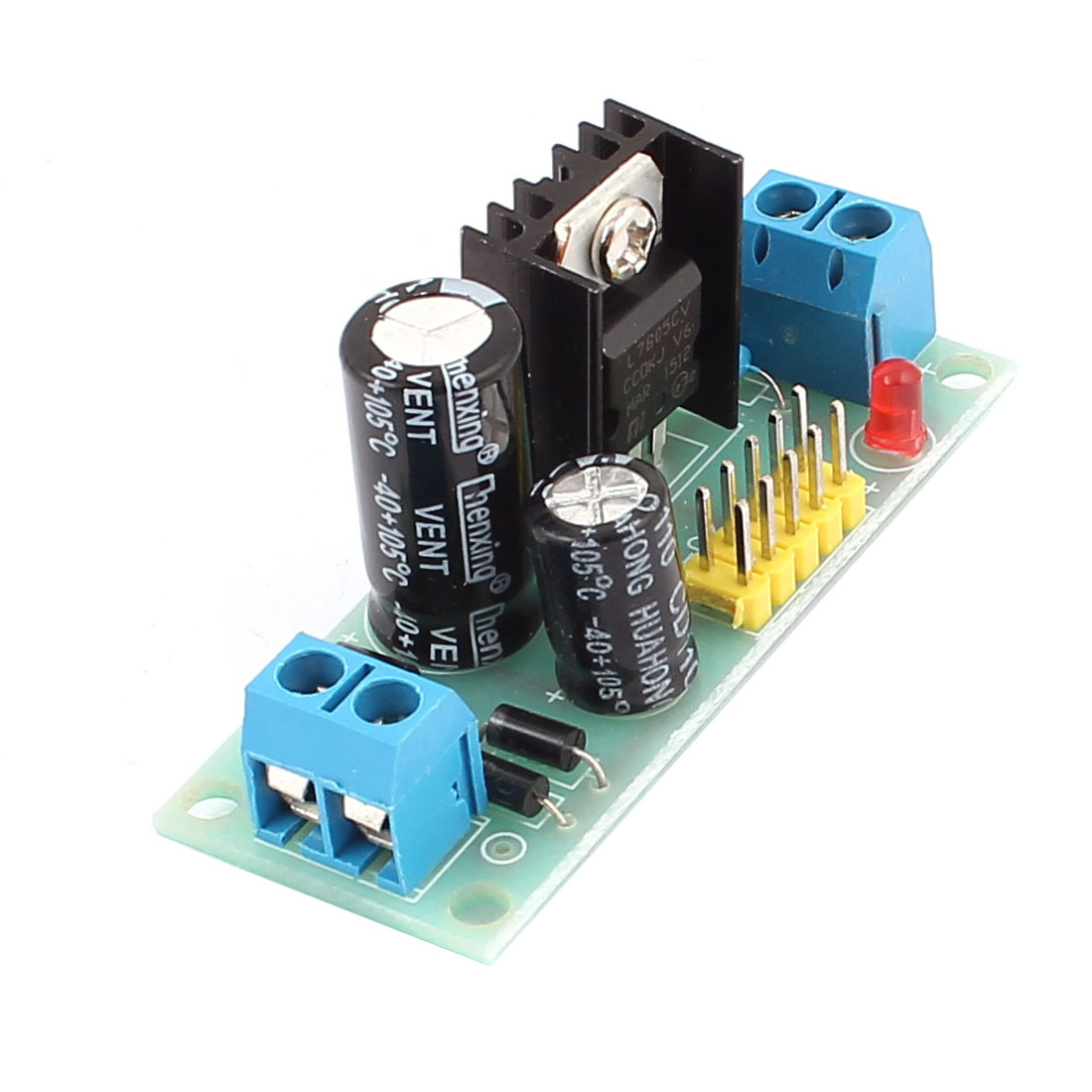 L7805 AC DC 7.5-20V Step Down Voltage Regulator Module 5V