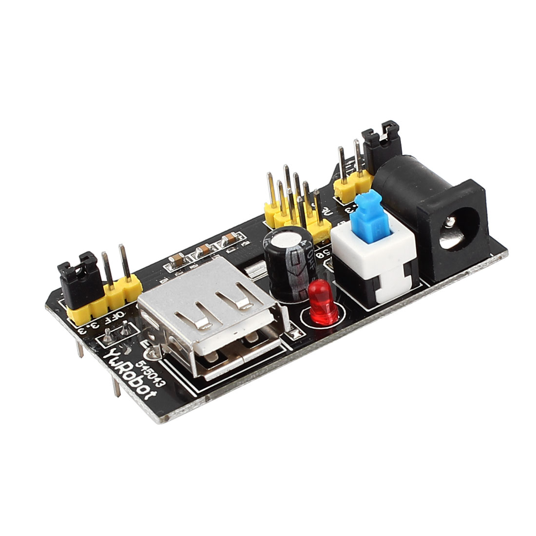 3.3V/5V Breadboard Power Supply Module for MB102 Breadboard