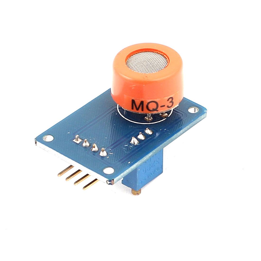 DIY Alcohol Ethanol Gas Detection Sensor Alarming Module MQ-3 for MCU