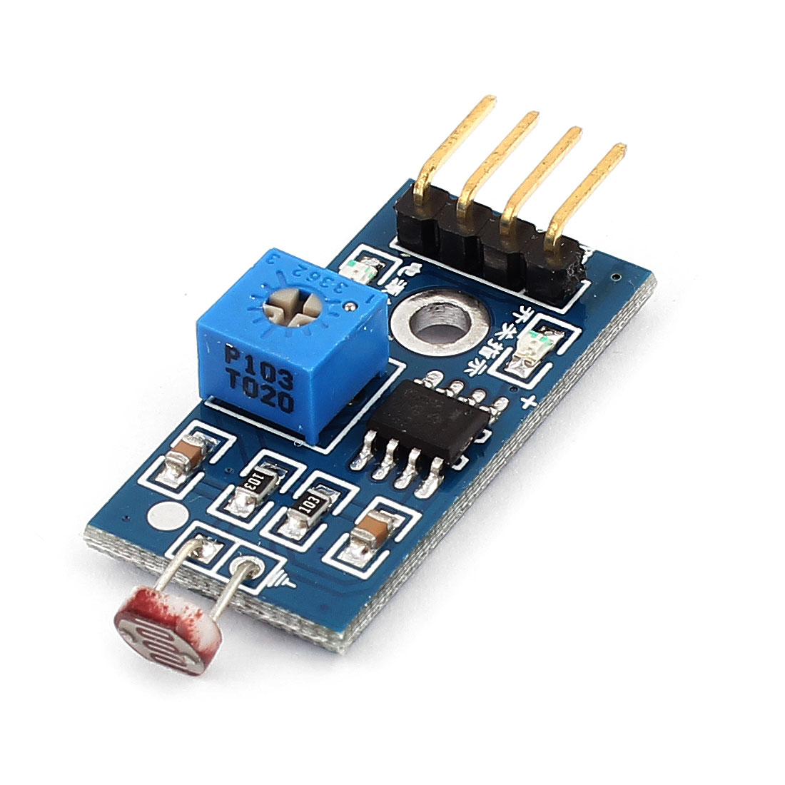 3.3-5V Photosensitive Resistance Sensor Light Detection Sensor Module