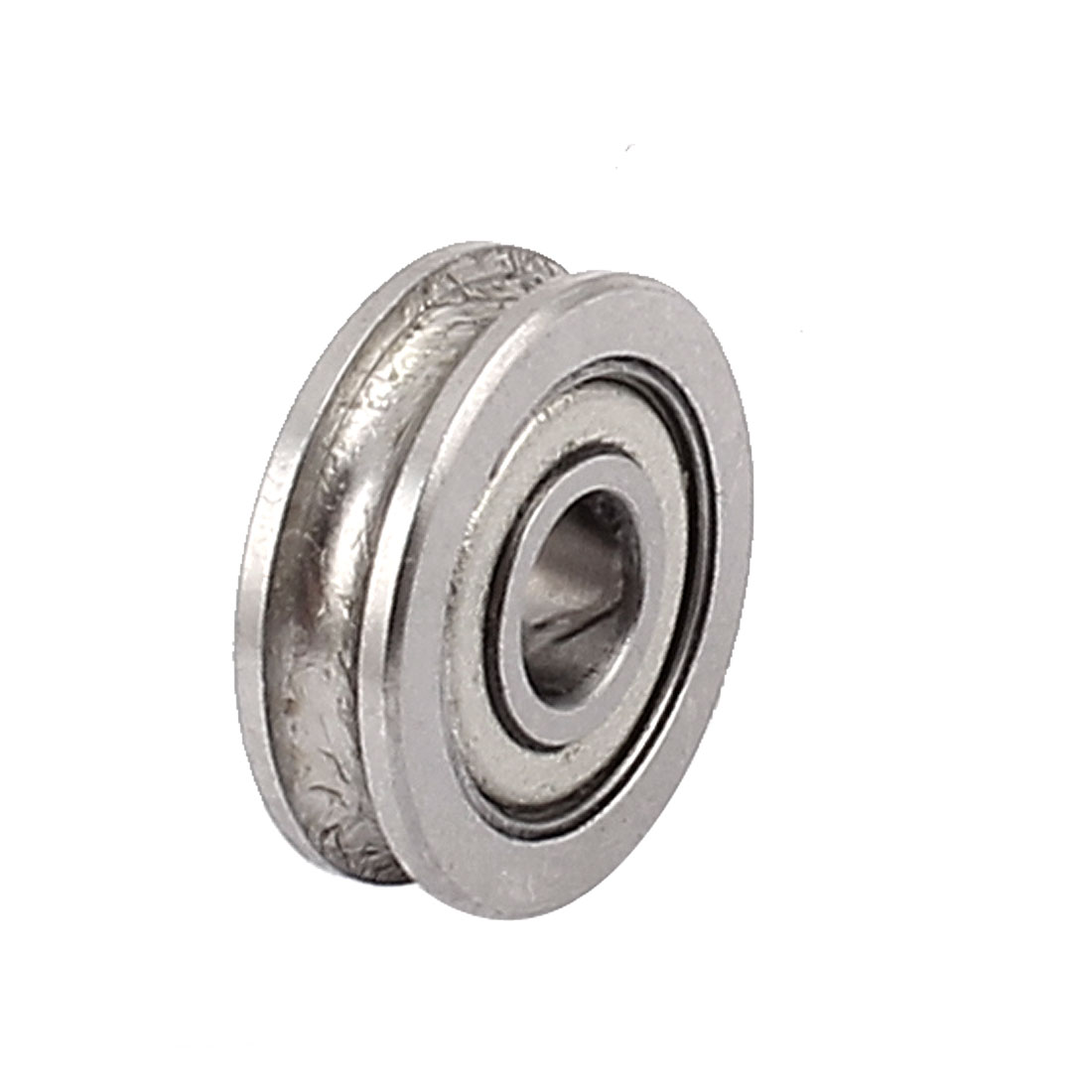 604U 13mmx4mmx4mm Stainless Steel Shields Deep Groove Flanged Ball Bearing