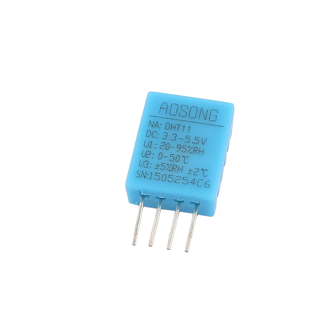 DC 3.3V-5.5V 4Pin Digital Temperature Humidity Sensor for Module Board