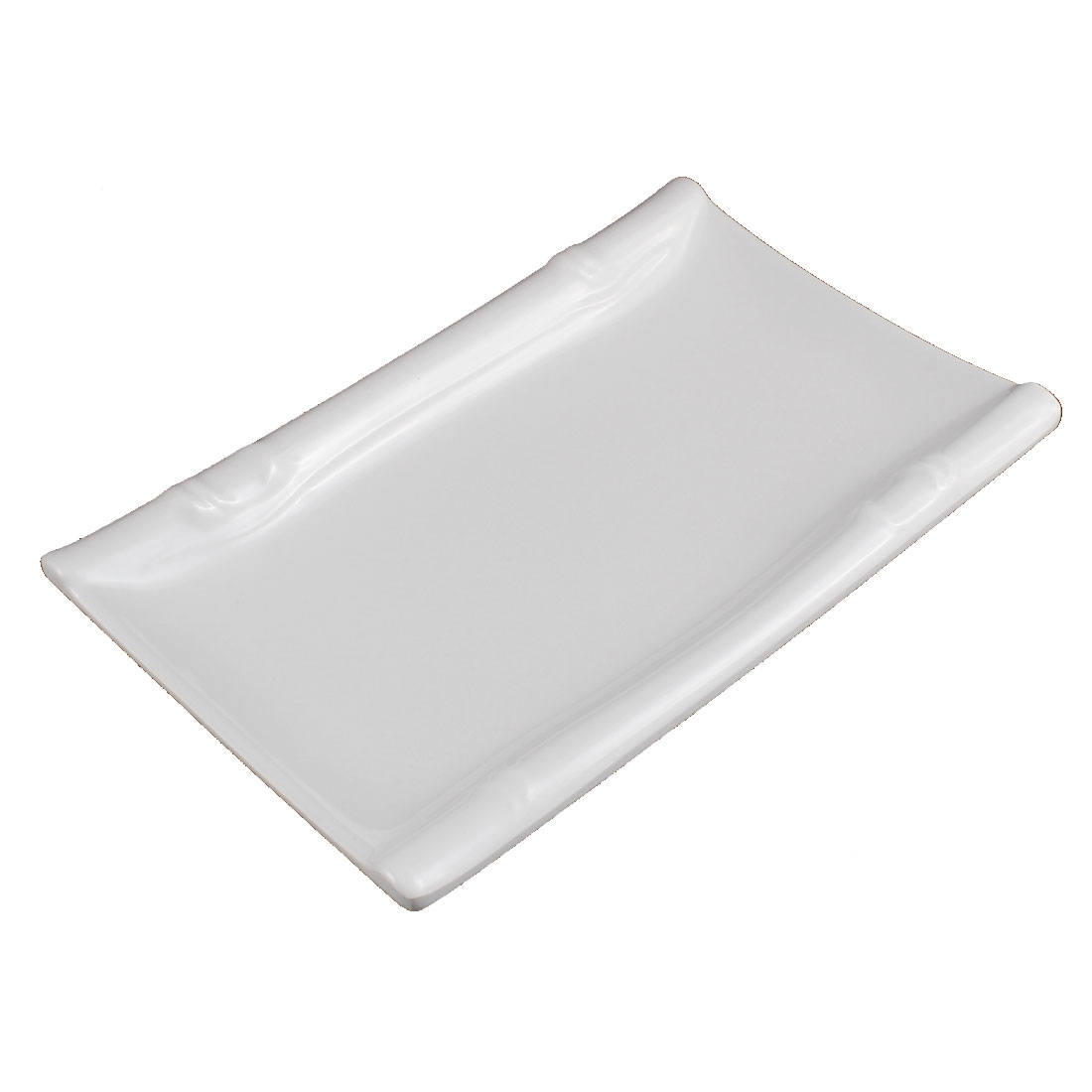 Restaurant Rectangle Shaped Dessert Food Appetizer Serving Plate Dish 21x13.5cm