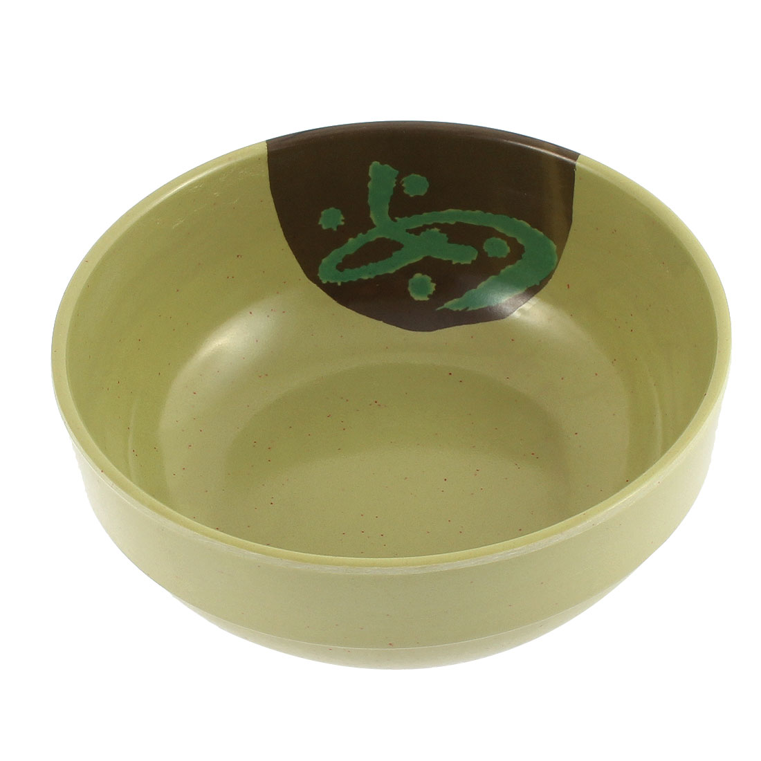 Resturant Household Rice Soup Food Bowl Holder Green