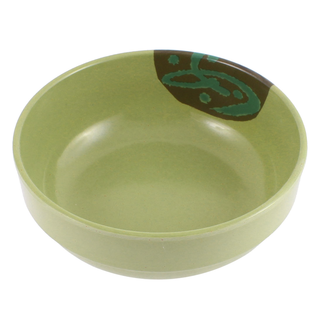 "Restaurant Home Rice Soup Salad Container Bowl Green 6.5"" Dia"