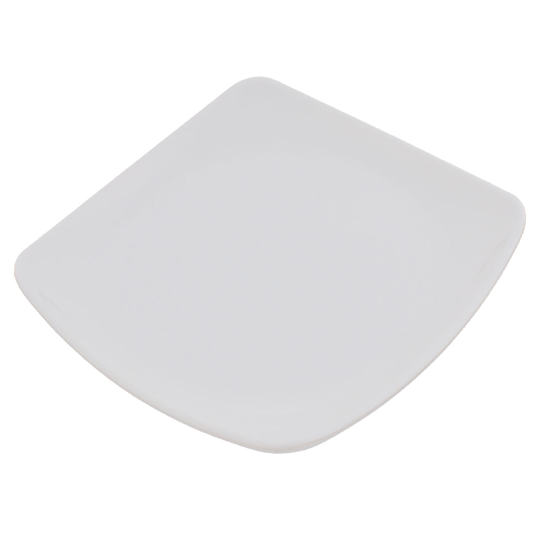 Square Shape Dinner Food Dessert Plate Dish 165mm x 165mm White