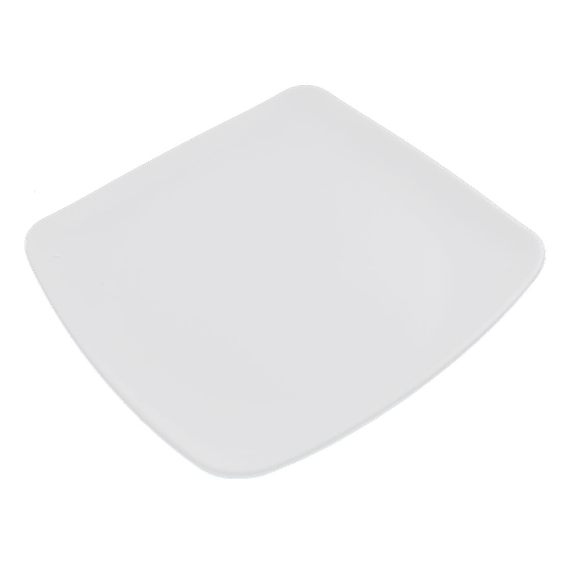 Household Square Shape Food Sushi Fish Plate Dish Container White