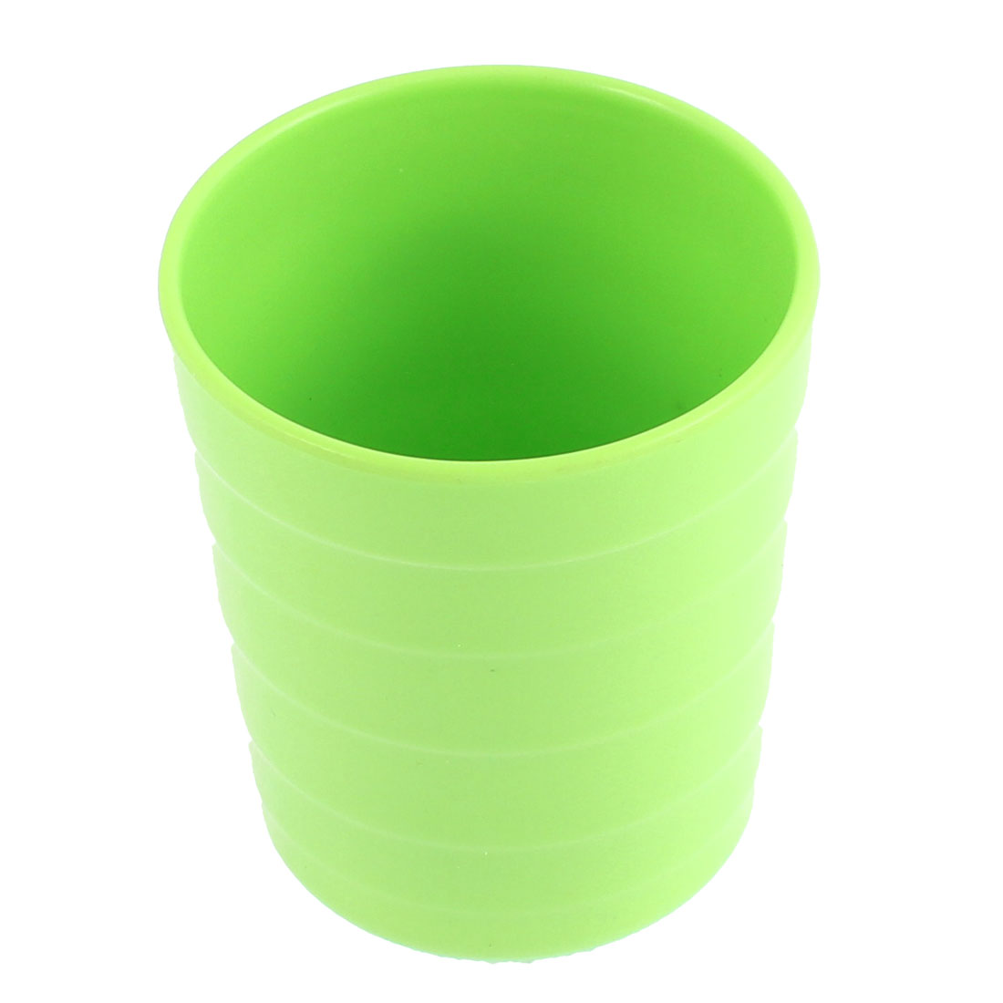 Restaurant Plastic Water Tea Coffee Wine Drinking Cup Green 8cm Height