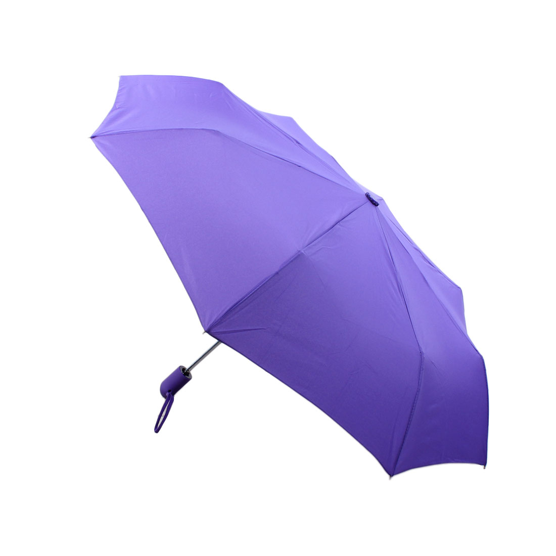 Travel Automatic Open Close Folding Compact Umbrella 97cm Dia