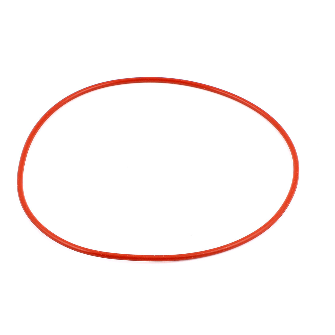 Rubber 165mm x 159mm x 3.5mm Oil Seal O Rings Gaskets Washers Brick Red