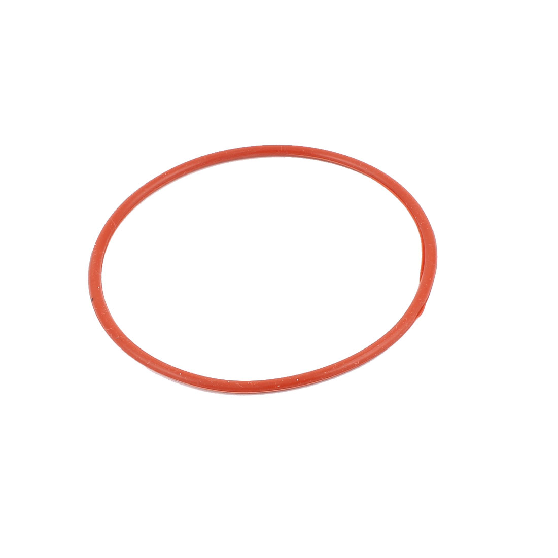 Rubber 90mm x 84mm x 3mm Oil Seal O Rings Gaskets Washers Brick Red