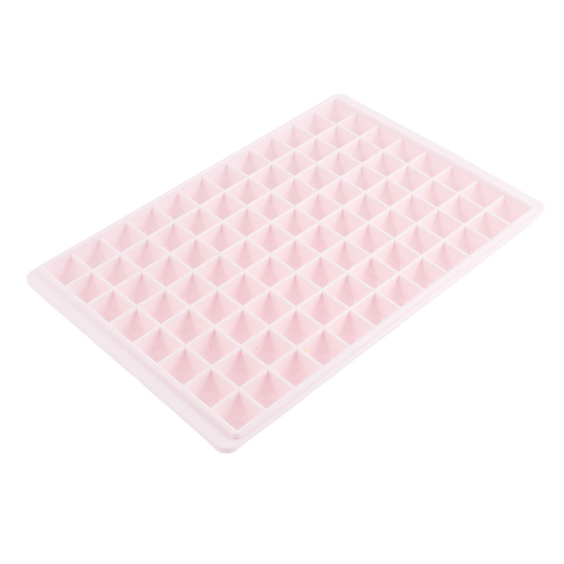 Cake Chocolate Making Square 96 Slots Ice Cube Mold Light Pink
