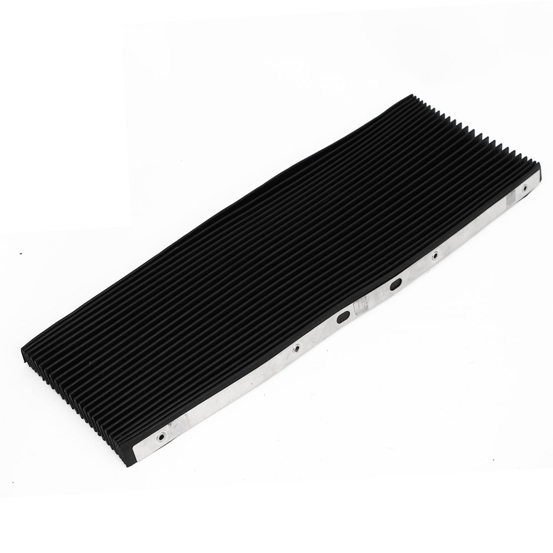 CNC Machine Fitting Foldable Stretchy Flexible Organ Shaped Anti Dirt Dust Protective Cover Black 40.5cmx50cm