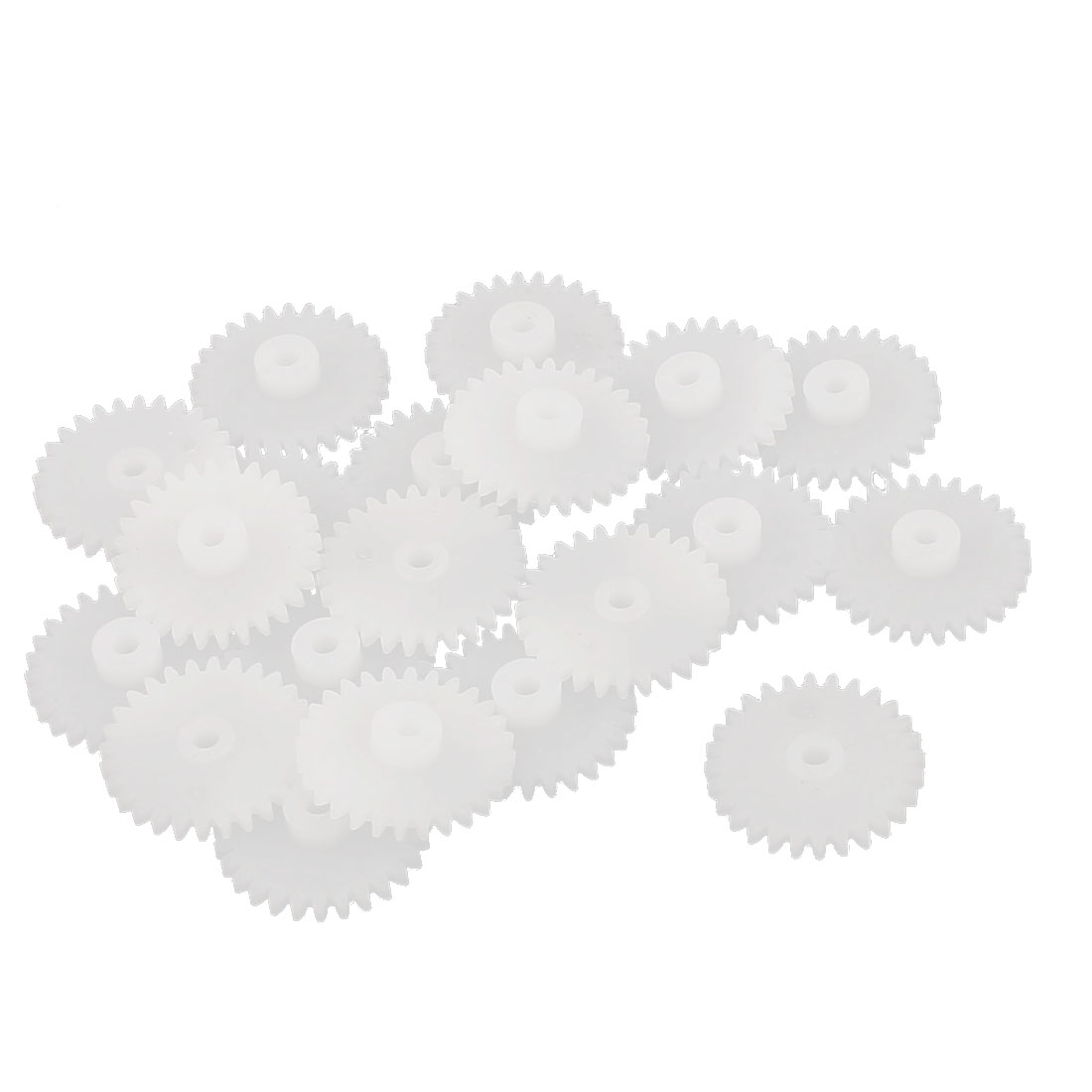 20 Pcs 28 Teeth 0.5 Modulus Plastic Single Reduction Motor Gear for RC Airplane