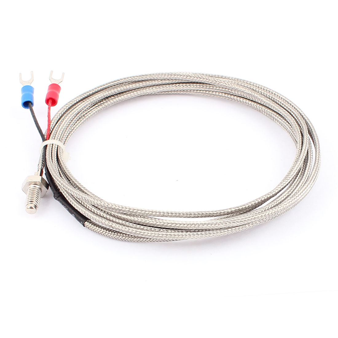 K Type Temperature Control Thermocouple Sensor Probe Cable 0 to 400C 3Meter 10Ft Long 2pcs