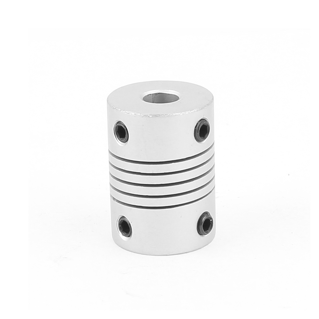 6mm to 6mm Aluminium Alloy Encode Beam Coupling Joint DIY Motor Shaft Adapter