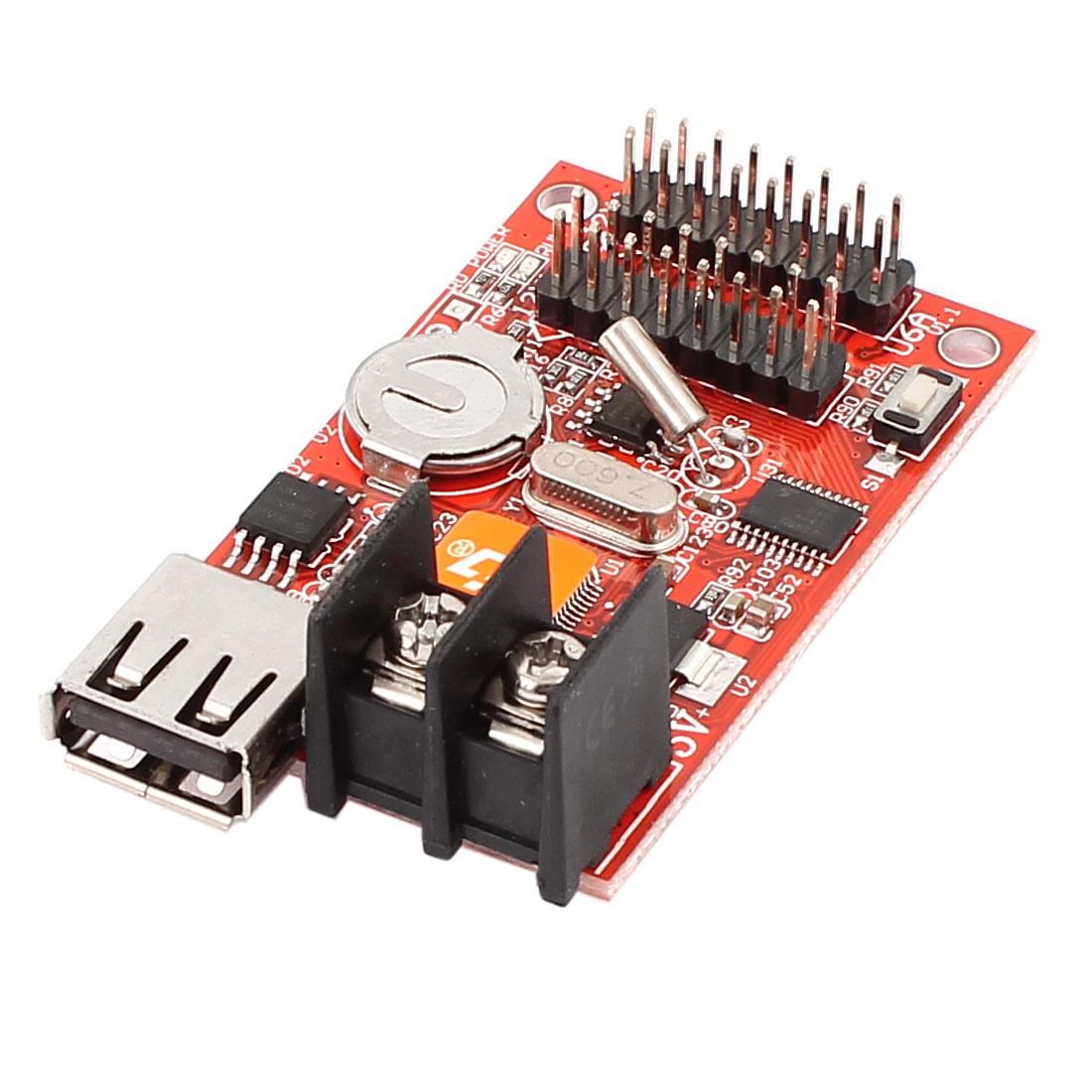 HD-U6A USB Port U-disk LED Screen Display Control Card P10 Module