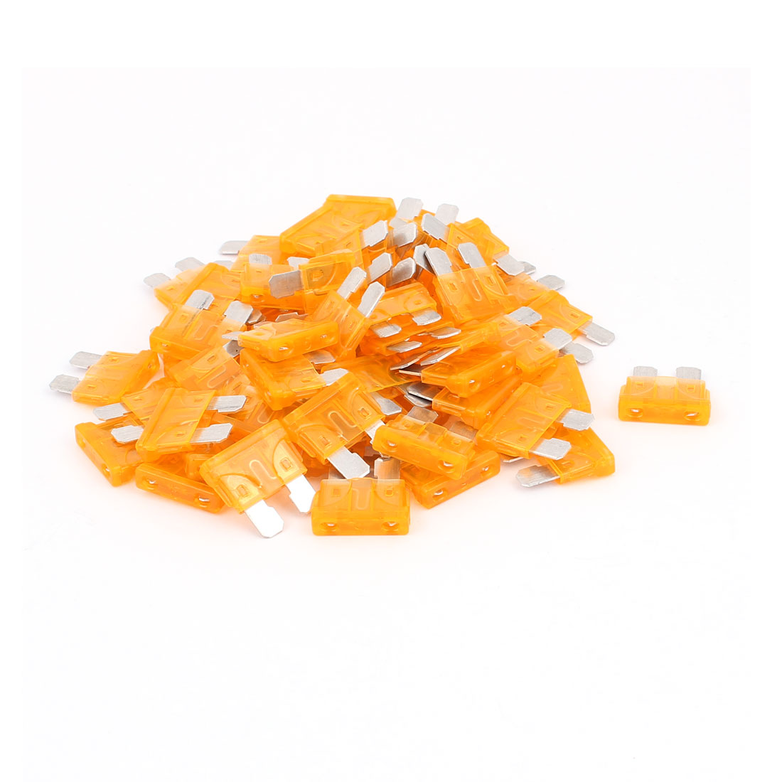 60pcs Mini Auto Motorbike Car Truck SUV Boat ATC Blade Fuses 5A Orange