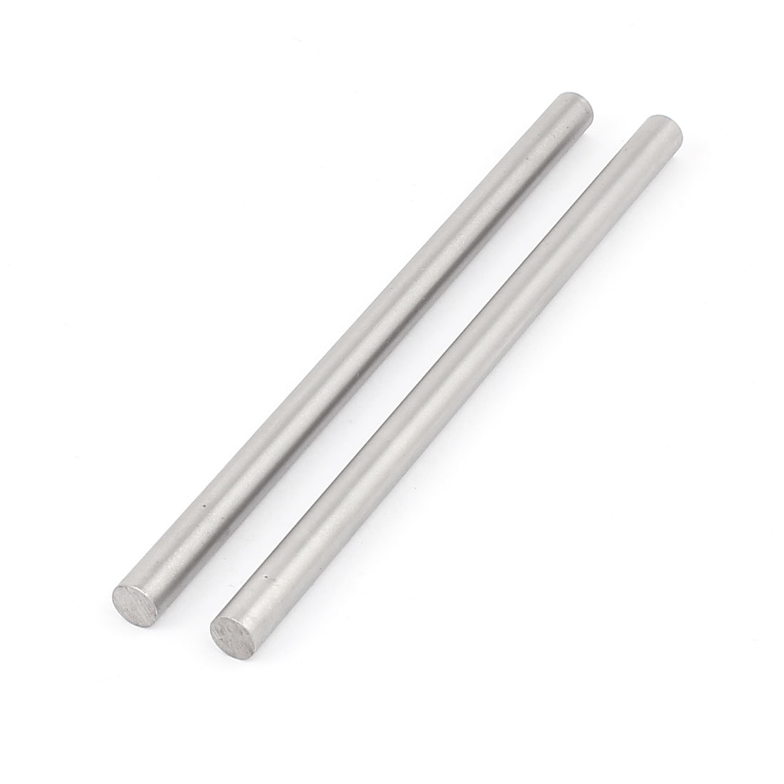 2 Pcs 8mm x 150mm DIY RC Car Toy Model Straight Metal Round Shaft Rod Bars