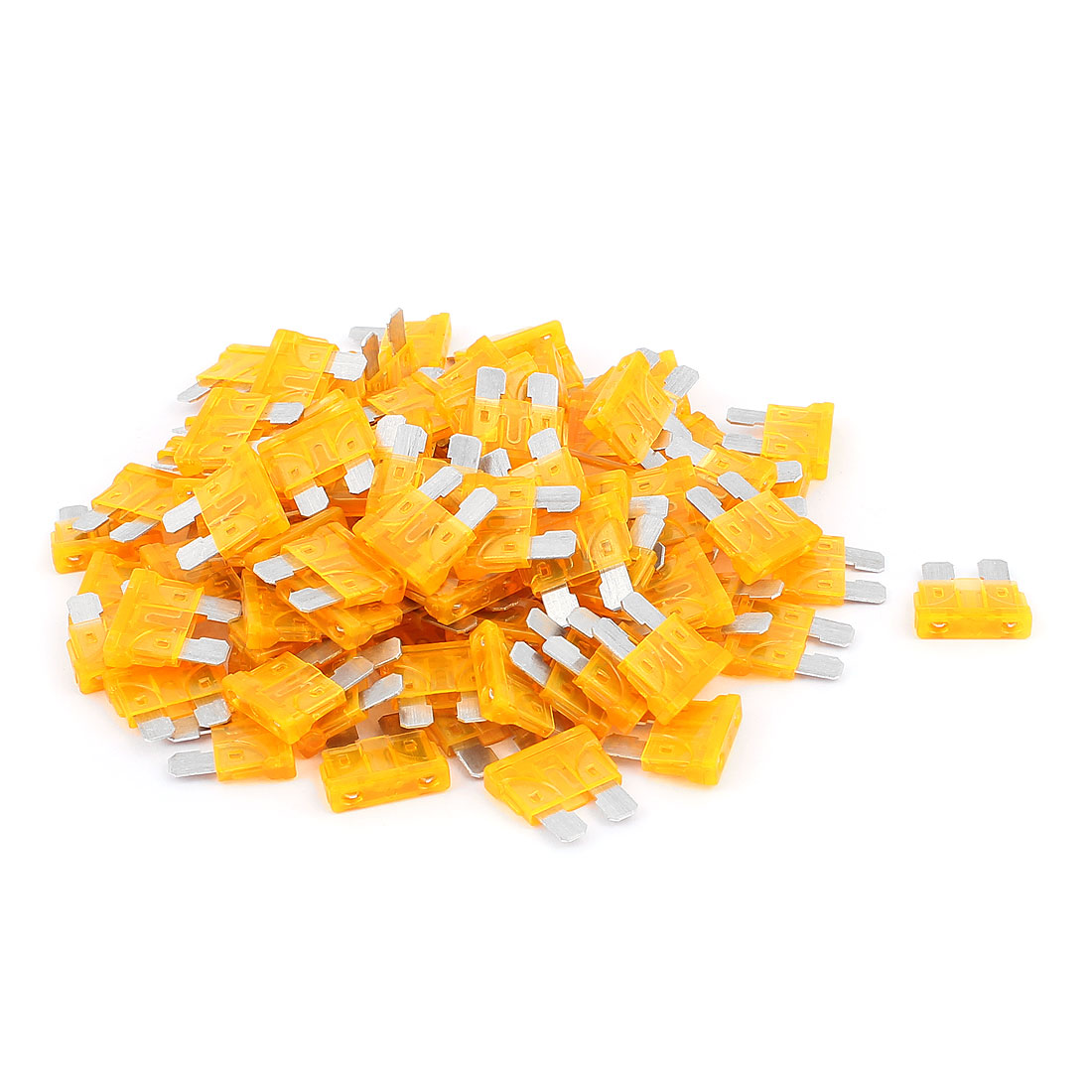 100pcs Automotive Motorbike Car Truck SUV Boat ATC Blade Fuses 5A Orange