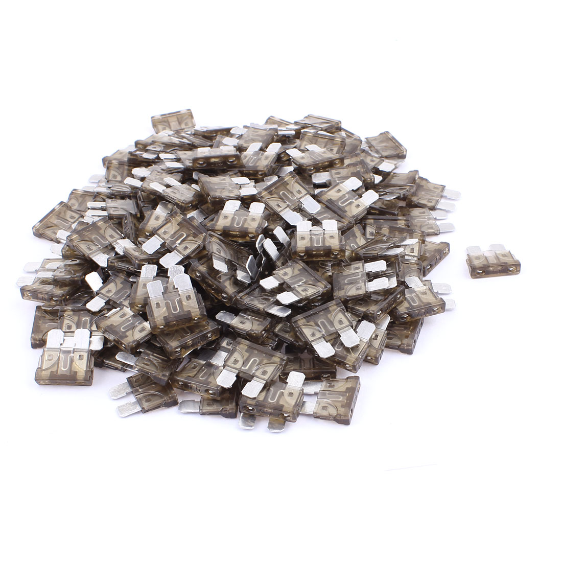 200pcs Automotive Motorbike Car Truck SUV Boat ATC Mini Blade Fuses 7.5A Gray