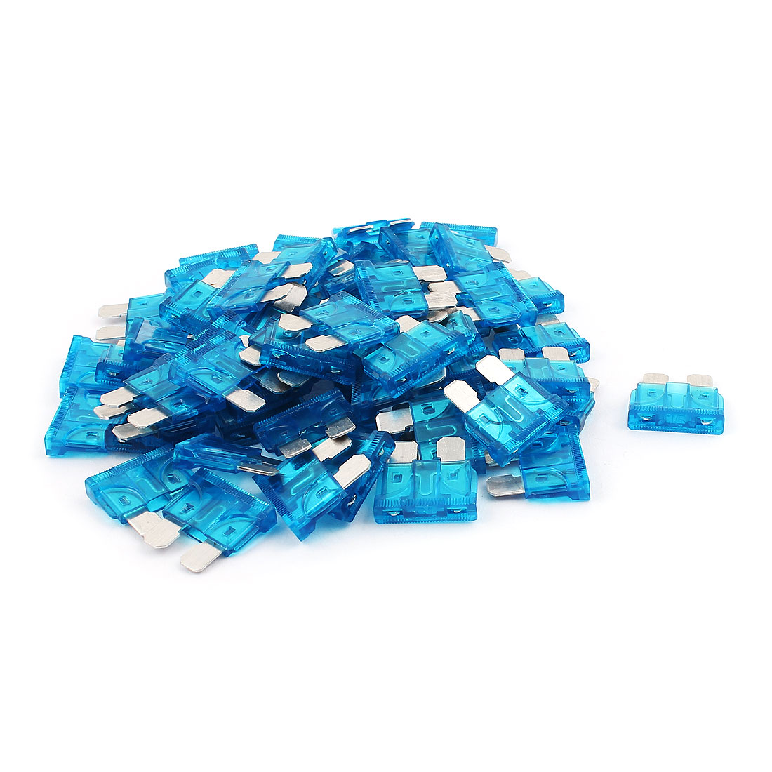 60pcs Automotive Motorbike Car Truck SUV Boat ATC ATO Mini Blade Fuses 15A Blue