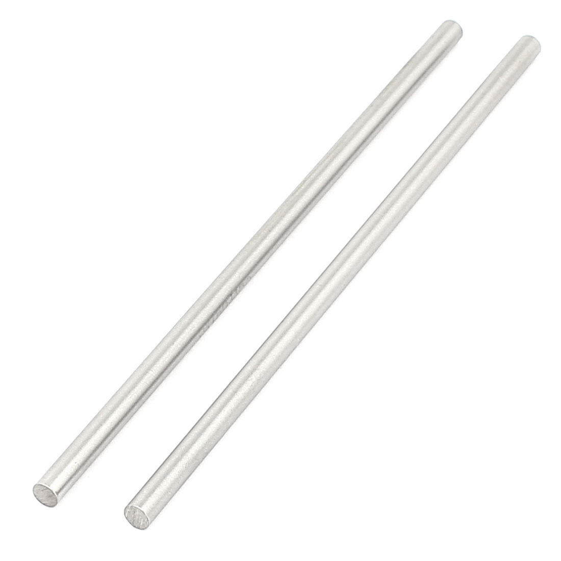 2 Pcs 5mm x 150mm DIY RC Car Toy Model Straight Metal Round Shaft Rod Bars