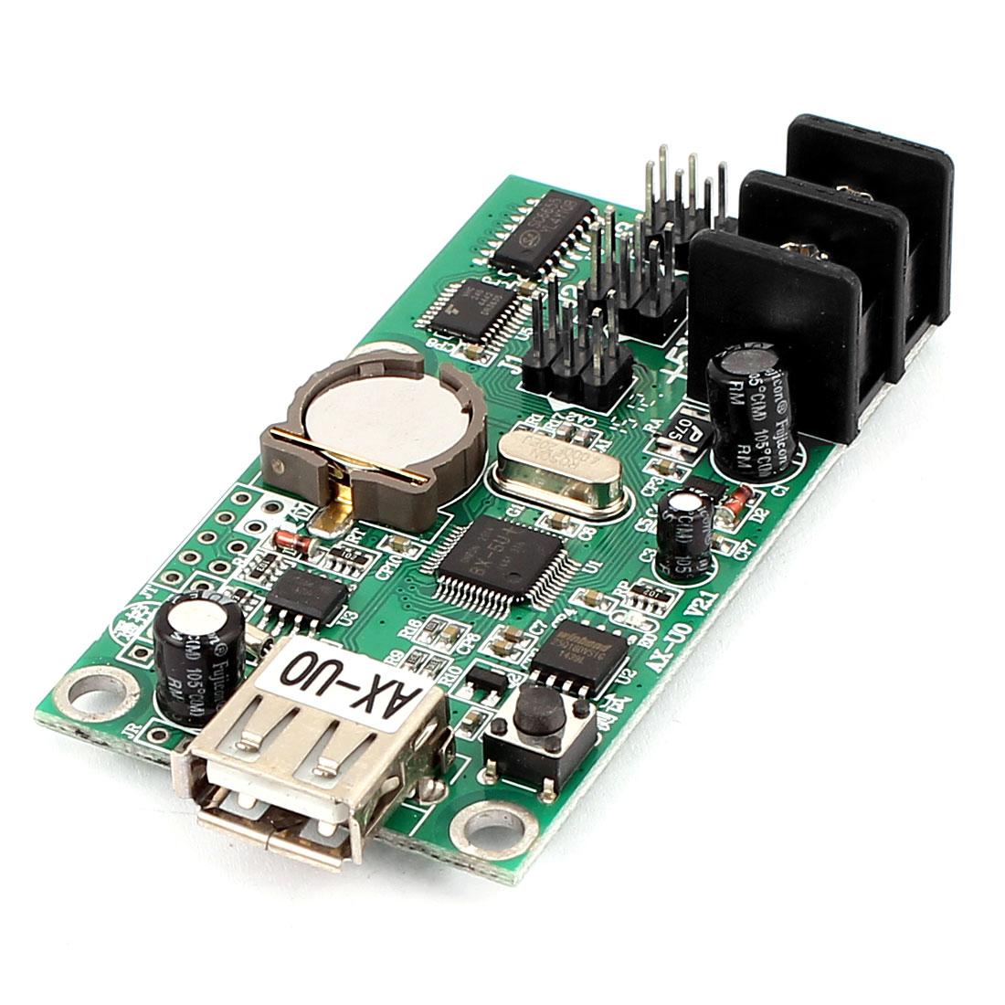 AX-UO USB Port U-disk LED Screen Display Control Card P10 Module