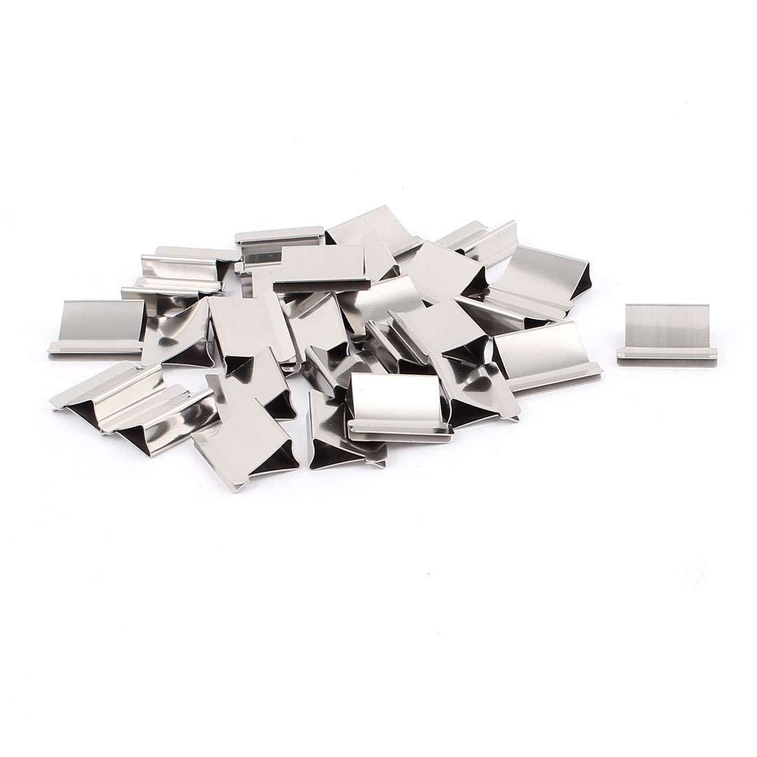 Metal Stapler Dispenser Refills Paper Clam Clip 30 Pcs