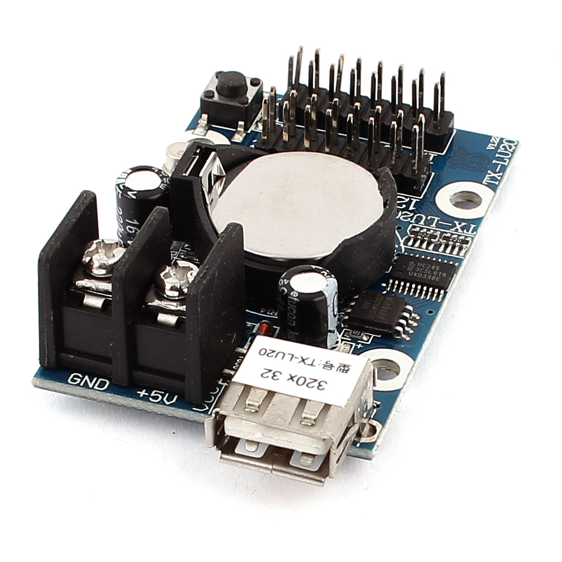 TX-LU20 USB Port U-disk LED Screen Display Control Card P10 Module