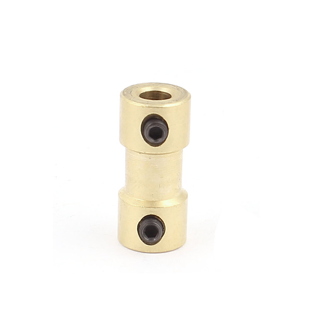 4mm to 4mm Copper DIY Motor Shaft Coupling Joint Connector for Electric Car Toy