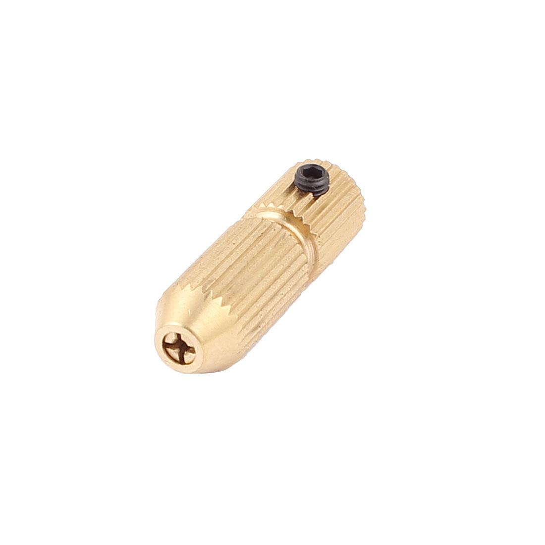 2mm-1.2mm Barss Self-Locking Small Electric Drill Chuck Twist Mini Collet w L Bar