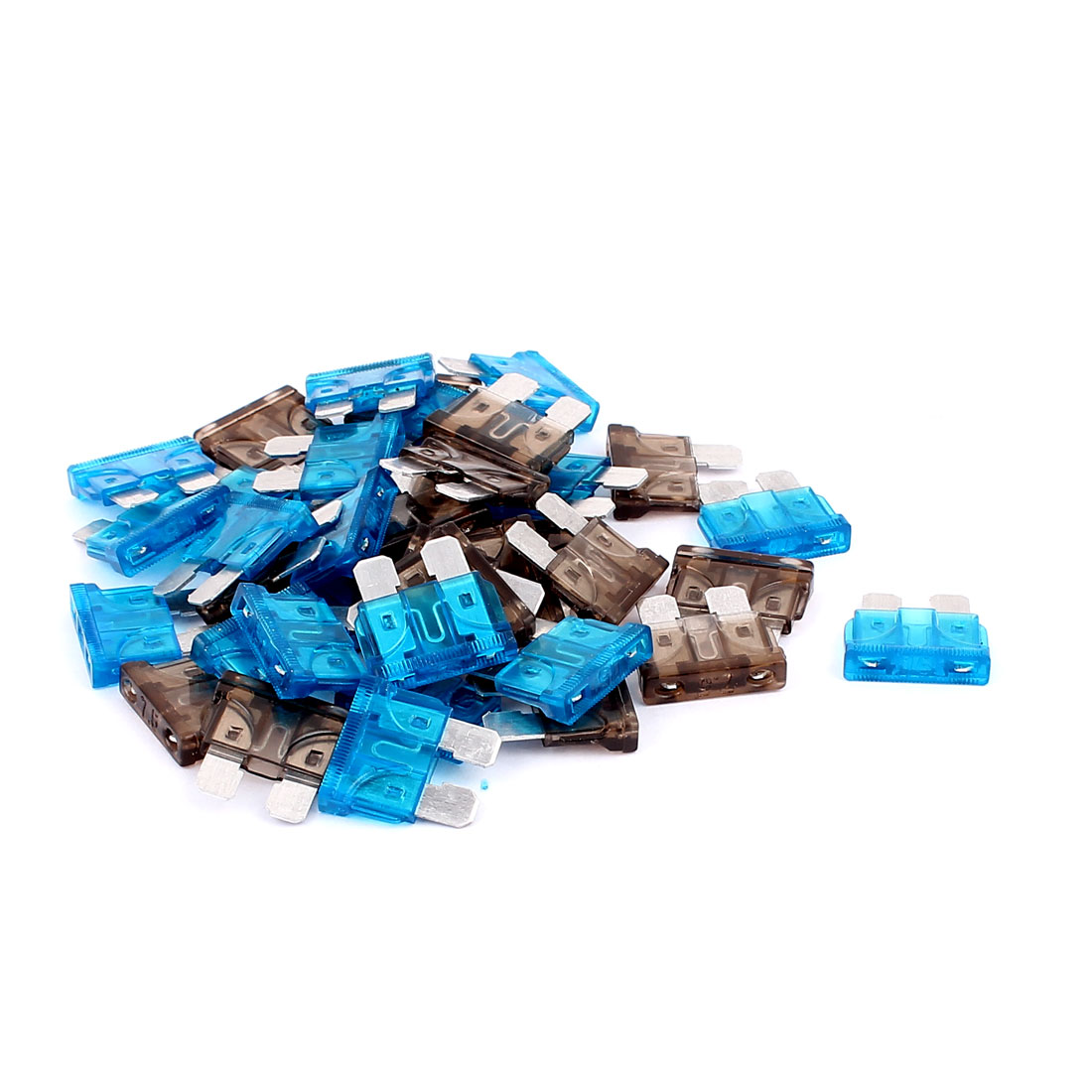 40pcs Motorcycle Auto Car Vehicle Caravan Boat ATC ATO Mini Blade Fuses 15A 7.5A Blue Green