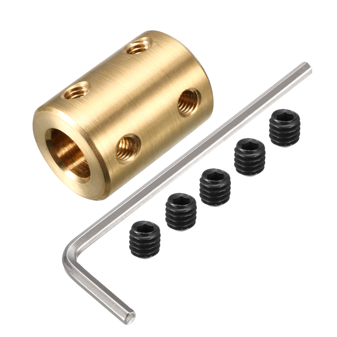 6mm to 8mm Copper DIY Motor Shaft Coupling Joint Connector for Electric Car Toy
