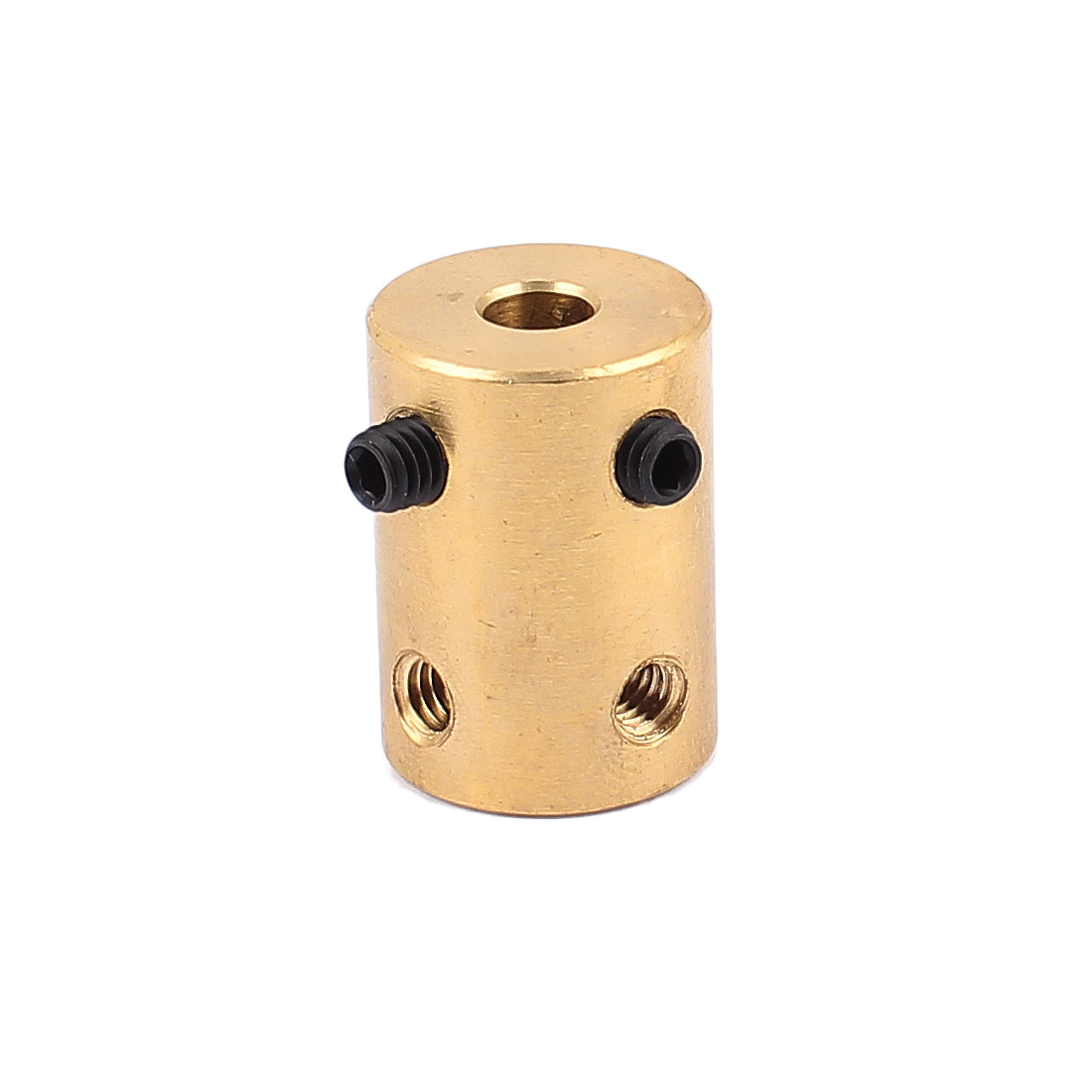 5mm to 5mm Copper DIY Motor Shaft Coupling Joint Adapter for Electric Car Toy
