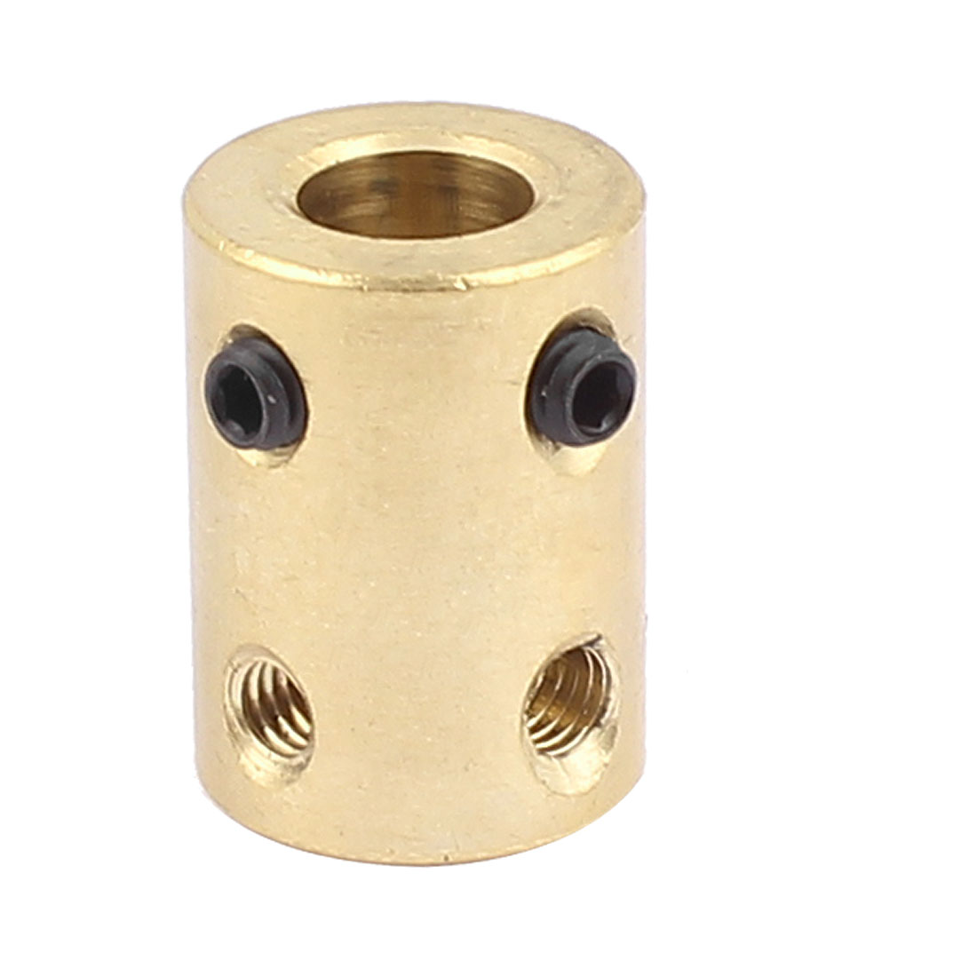 6.38mm to 8mm Copper DIY Motor Shaft Coupling Joint Adapter for Electric Car Toy